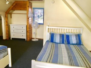 Double Bed in upstairs loft