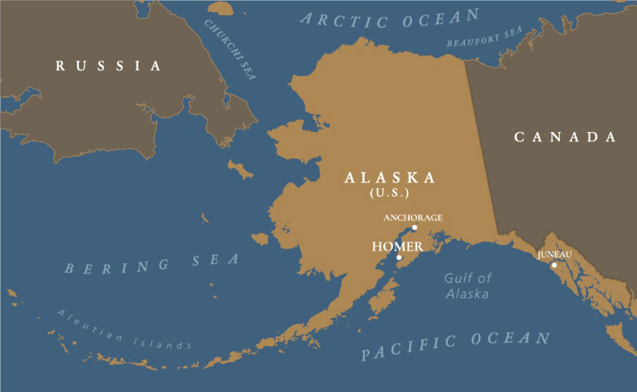 map image of Alaska