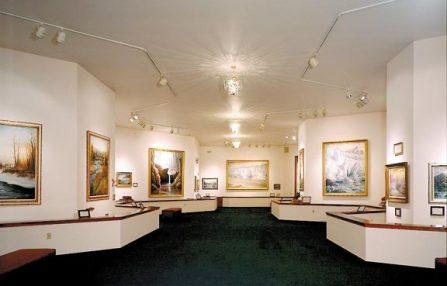 Inside of Art Gallery