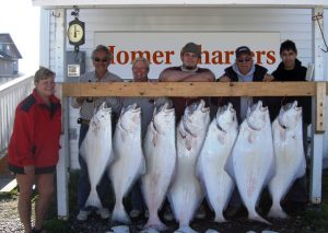 Family plus limit on Halibut