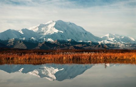 Glacier Mountain view