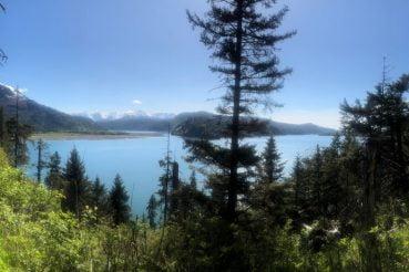 Hiking Photo on Saddle Trail