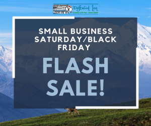 Small Business Saturday/Black Friday Flash Sale