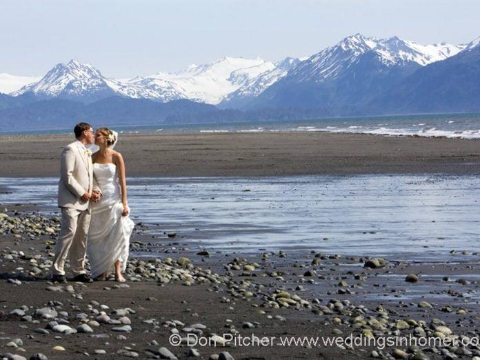 Couple on Bishop's Beach