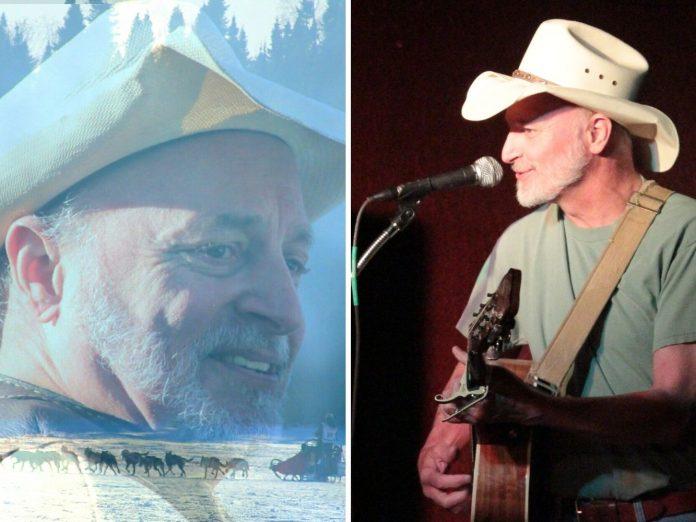 Two photos of Hobo Jim.